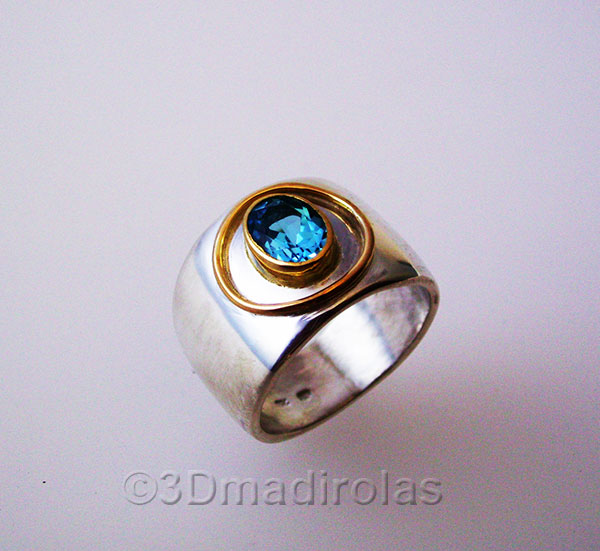 aro recto ring 01w